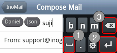 how to add mail recipient to send to menu